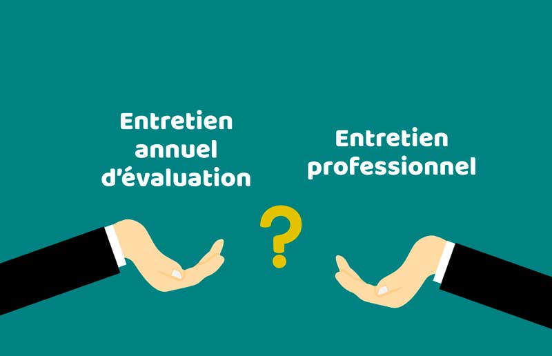 Entretien annuel d'évaluation VS entretien professionnel : quelles différences ? - FORMACOM Nantes